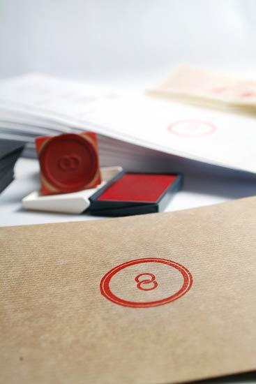 39 Desain Stempel Karet Standar Biasa - Desain Stempel Karet - IVAN Y RAQUEL