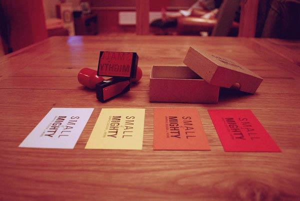 39 Desain Stempel Karet Standar Biasa - Desain Stempel Karet - Kartu Nama 8 Promosi Diri 2