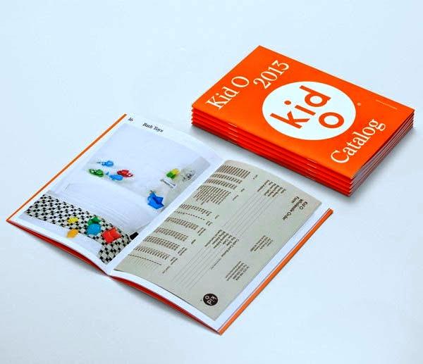 22 Disain Katalog Kreatif - Contoh desain katalog - Kid O 2013 Catalog oleh Studio Lin