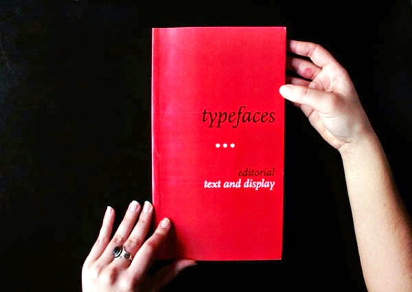 22 Disain Katalog Kreatif - Contoh desain katalog - Typefaces Catalog oleh lisa penedo