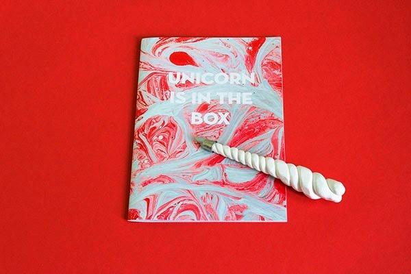 22 Disain Katalog Kreatif - Contoh desain katalog - Unicorn is in the box Berlin fashion week14 oleh Asta Ostrovskaja