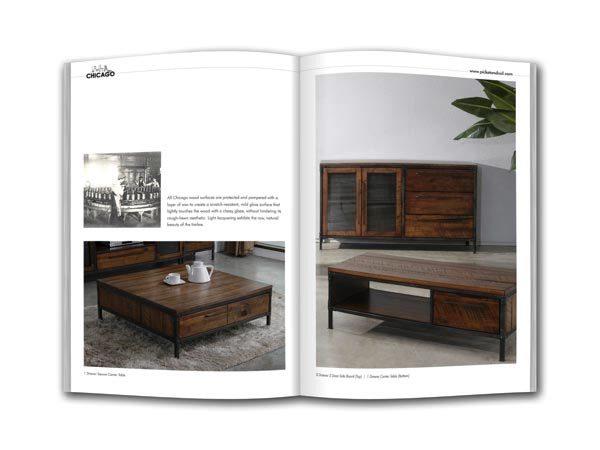 Desain Katalog Brosur Furnitur Modern - Katalog Brosur - - Industrial Collection 2