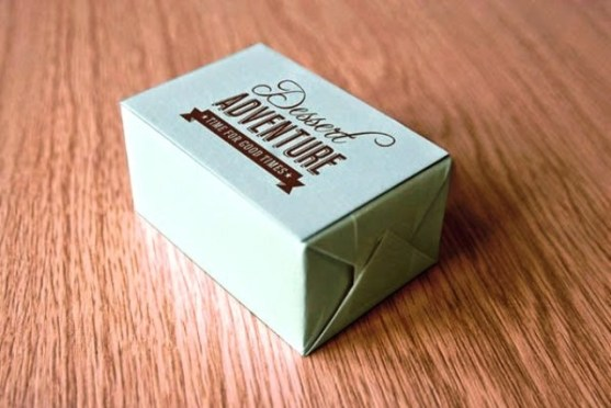 Contoh Kreatif Desain Kemasan Produk Makanan - Desain-Kreatif-Kemasan-Makanan-Dessert-Adventure-oleh-Citra-Limanto
