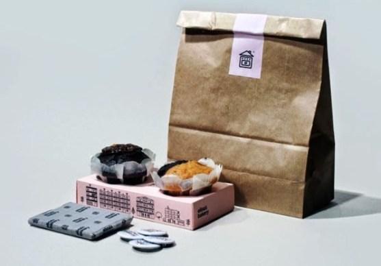 Contoh Kreatif Desain Kemasan Produk Makanan - Desain-Kreatif-Kemasan-Makanan-Elinas-bakery-oleh-Konstantina-Yiannakopoulou-George-Strouzas-and-The-Birthdays