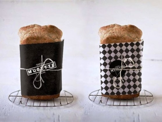 Contoh Kreatif Desain Kemasan Produk Makanan - Desain-Kreatif-Kemasan-Makanan-MUSETTE-bakery-oleh-Judit-Besze