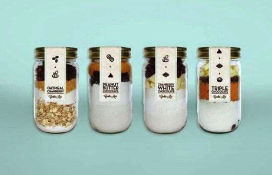 Contoh Kreatif Desain Kemasan Produk Makanan - Desain-Kreatif-Kemasan-Makanan-Milk-Honey-Co.-Branding-oleh-Emmy-de-Leon