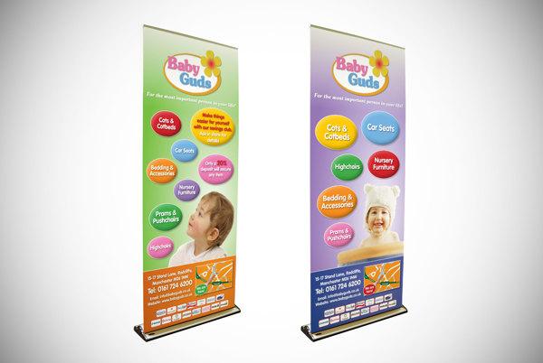 15 Desain Roller Banner - Desain Roller X Banner - BabyGuds exhibition banner