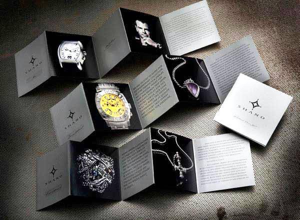 17 Desain Katalog Perhiasan Brosur Permata - Desain katalog brosur perhiasan - Shano Precious Jewelry & Timepieces 2