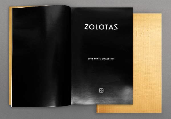 17 Desain Katalog Perhiasan Brosur Permata - Desain katalog brosur perhiasan - ZOLOTAS - 5 Collections Catalogue (High Jewelry) 2
