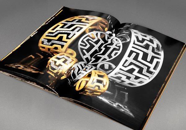 17 Desain Katalog Perhiasan Brosur Permata - Desain katalog brosur perhiasan - ZOLOTAS - 5 Collections Catalogue (High Jewelry) 3