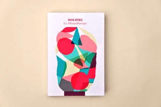 Gambar Kover Buku dengan Ide Desain Kreatif - Gambar-Kover-Buku-Ide-Desain-Kreatif-Le-Misanthrope-oleh-Maxime-Francout