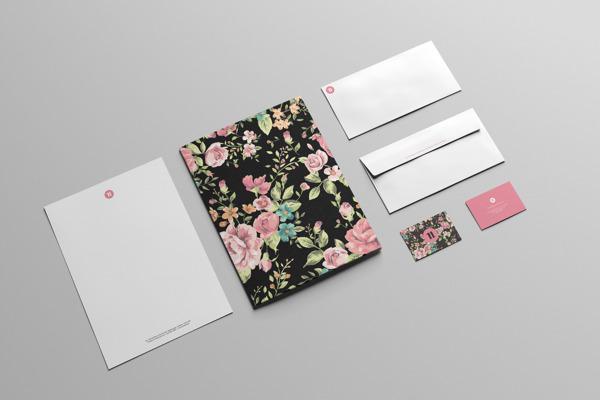 17 Kop Surat dengan Desain Elegan - Chenda-Linda-Noun - Kop Surat Desain Elegan
