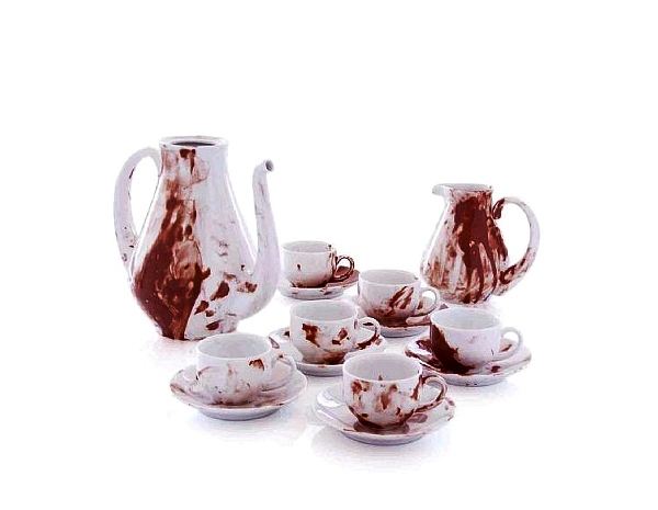 24 Contoh Mug Cangkir Desain Kreatif Original - Contoh Desain Mug Cangkir Kreatif Unik Original - Antonio Murado Salome Coffee Set 2