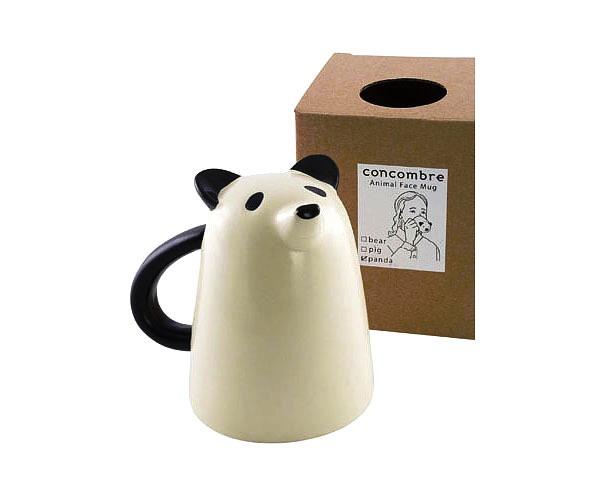 24 Contoh Mug Cangkir Desain Kreatif Original - Contoh Desain Mug Cangkir Kreatif Unik Original - Panda Face Mug