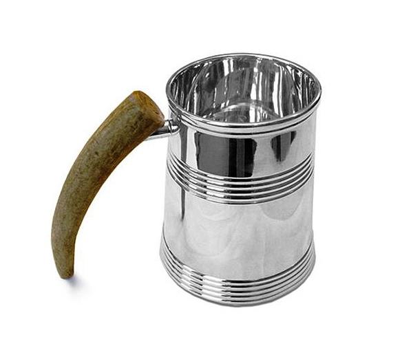 24 Contoh Mug Cangkir Desain Kreatif Original - Contoh Desain Mug Cangkir Kreatif Unik Original - Vivre Viking Wood Handle Pegangan Kayu