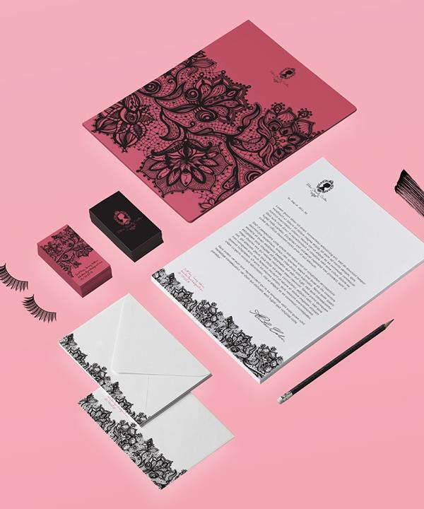 17 Kop Surat dengan Desain Elegan - Doha Beauty Center - Kop Surat Desain Elegan