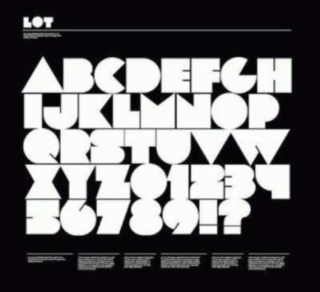 62 Font Unik untuk Desain Grafis - Font-Unik-Lot
