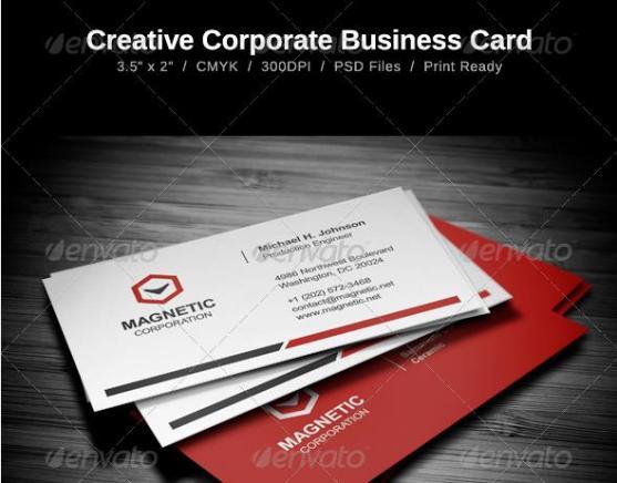 14 Desain Kartu Nama Perusahaan - Desain-Kartu-Nama-Perusahaan-Creative-Business-Card