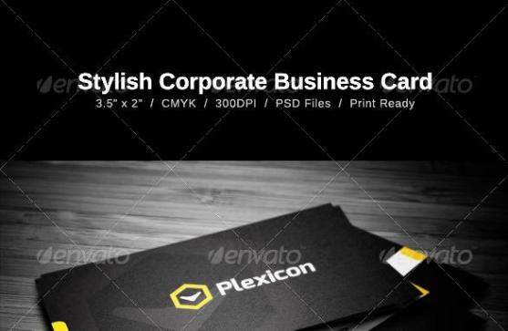 14 Desain Kartu Nama Perusahaan - Desain-Kartu-Nama-Perusahaan-Stylish-Business-Card