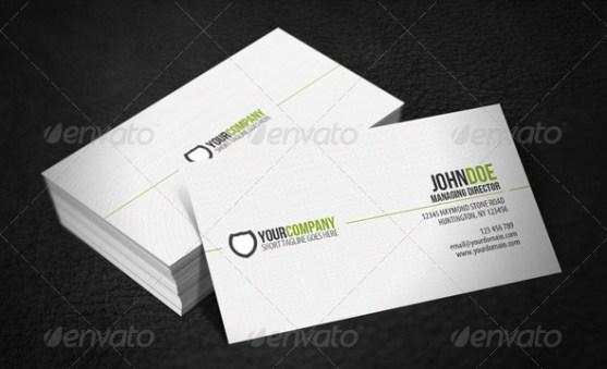 14 Desain Kartu Nama Perusahaan - Desain-Kartu-Nama-Simple-Professional-Business-Card