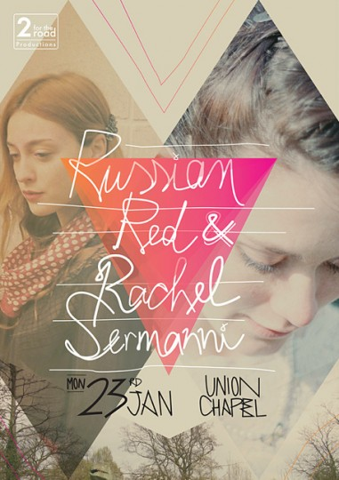 46 Contoh Poster Desain Inspiratif - Poster-inspiratif-tentang-Russian-Red-at-Union-Chapel