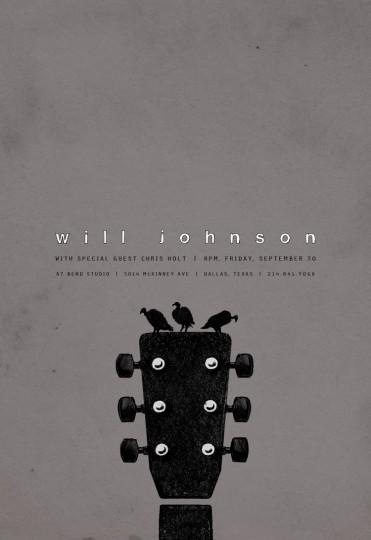 46 Contoh Poster Desain Inspiratif - Poster-inspiratif-tentang-Will-Johnson-oleh-Robert-Lin