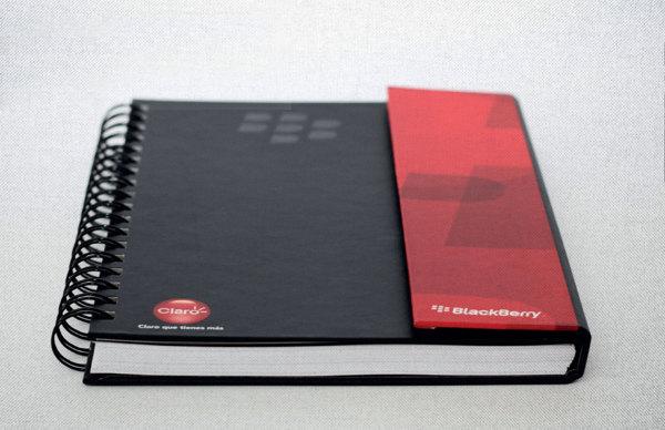 Contoh Buku Agenda Desain Cantik untuk Corporate Branding