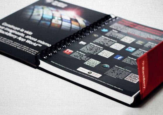 Contoh Buku Agenda Desain Cantik untuk Corporate - Desain-Buku-Agenda-AGENDA-BLACKBERRY-CLARO-1