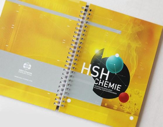 Contoh Buku Agenda Desain Cantik untuk Corporate - Desain-Buku-Agenda-HSH-CHEMIE-THE-AGENDA-NOTES-1