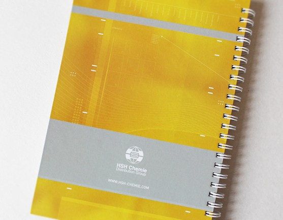 Contoh Buku Agenda Desain Cantik untuk Corporate - Desain-Buku-Agenda-HSH-CHEMIE-THE-AGENDA-NOTES-2