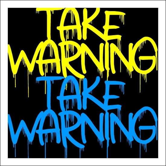 43 Font Graffiti Free Download - Take Warning Grafiti Font Free Download