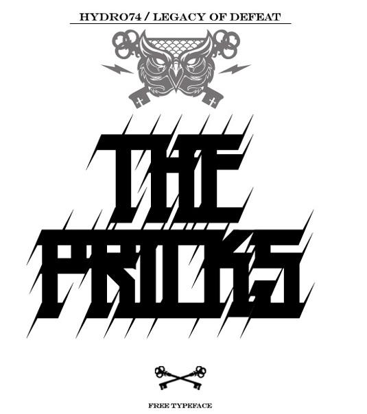 43 Font Graffiti Free Download - The Pricks Grafiti Font