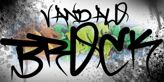 43 Font Graffiti Free Download - brock_vandalo