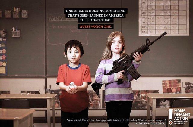 Iklan Layanan Masyarakat Paling Mengena - Iklan-tentang-penggunaan-senjata