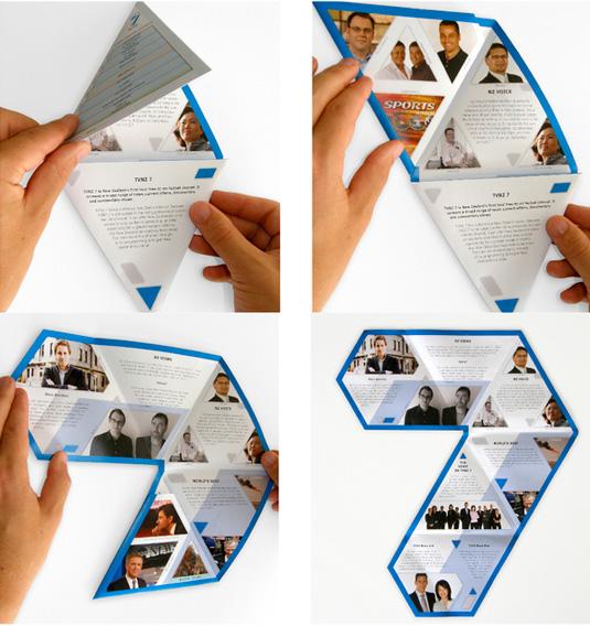 Brosur dengan Desain Keren untuk Promosi Produk dan Usaha