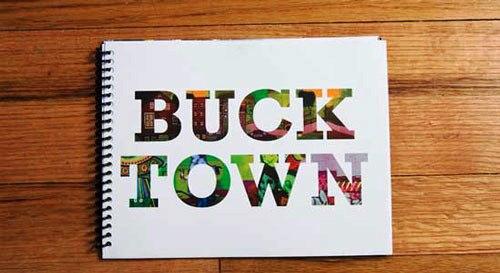 Contoh Desain Brosur untuk Corporate Identity - Buck-Town-Contoh-Brosur-untuk-Corporate-Identity
