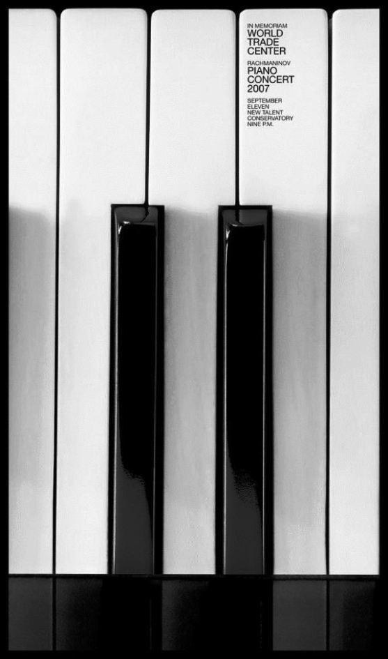 Contoh Format Iklan Advertising dengan Desain Minimalis - Contoh-35-Desain-Iklan-Minimalis-World-Trade-Center-Piano-Concert