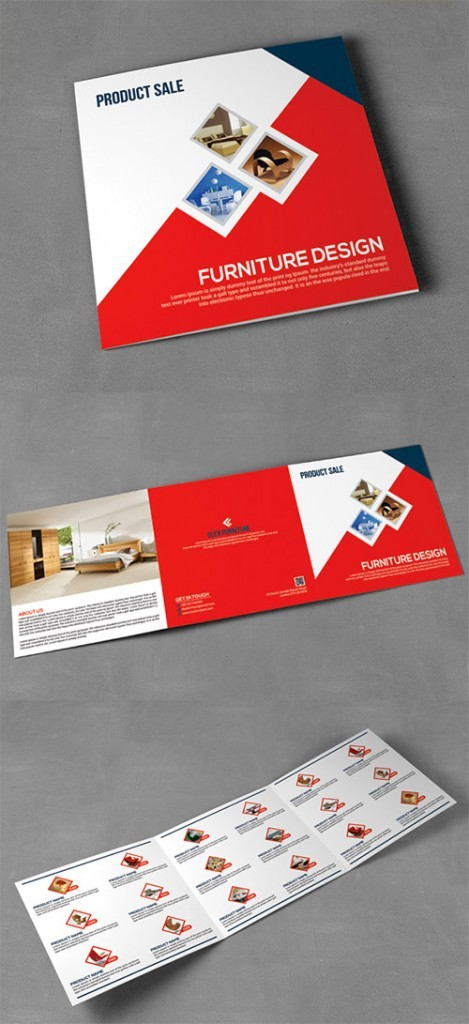Contoh Desain Brosur Lipat Tiga - Contoh-Desain-Brosur-Lipat-3-terbaru-Product-Sale-Square-Trifold-Brochure-Brosur-Penjualan-Marketing-Pemasaran-Produk-Furniture
