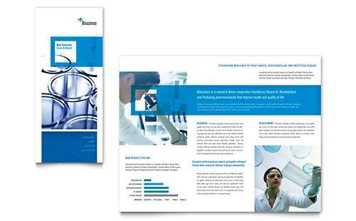 Desain Brosur Pamflet Kesehatan dan Medis - Contoh-Pamflet-Brosur-Lipat-3-Sains-dan-Kimia