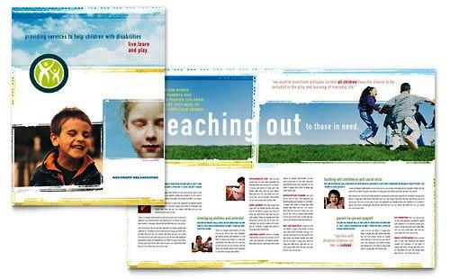 Desain Brosur Pamflet Kesehatan dan Medis - Contoh-Pamflet-Brosur-Pendidikan-Berkebutuhan-Khusus