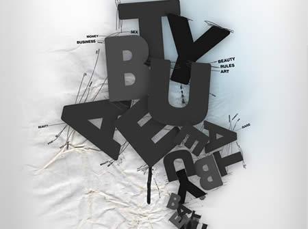Contoh Poster Dengan Tipografi yang Mengagumkan - Contoh-Tipografi-Poster-04