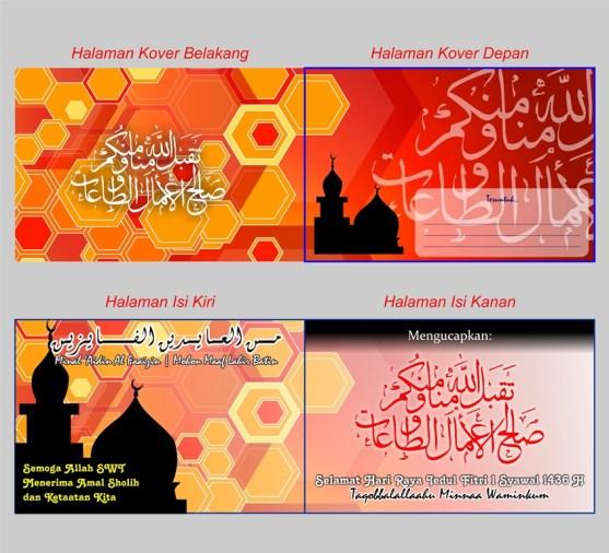 5 Contoh Desain Kartu Lebaran 1436 2015 Free Download - Kartu Ucapan Selamat Lebaran Idul Fitri 1436 h 2015 - 03