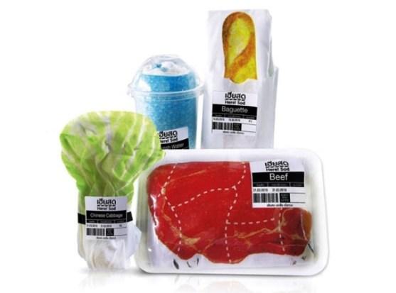 Desain Kemasan Packaging Kaos T Shirt Kreatif Bagus - Kemasan-T-Shirt-Kemasan-Daging-sapi