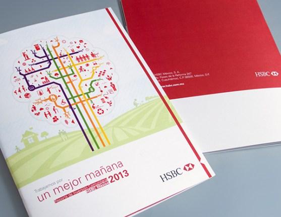 Contoh Gambar Desain Laporan Tahunan - Laporan-Tahunan-De-Inversión-Comunitaria-Hsbc-2013