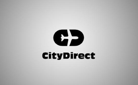 Logo dengan Desain Spasi Negatif - Logo-City-Direct