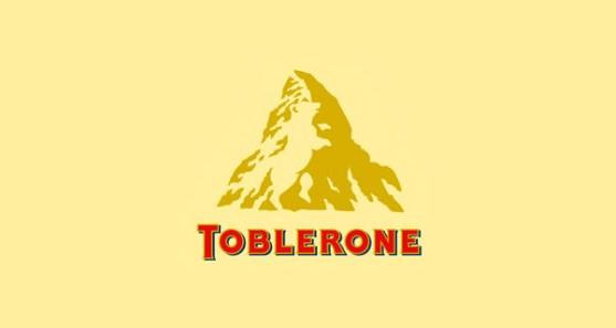 48 Contoh Logo dengan Simbol Tersembunyi - Toblerone-Logo