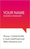 Template Kartu Nama Vector Gratis Download - template-kartu-nama-14