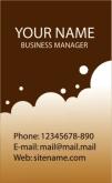 Template Kartu Nama Vector Gratis Download - template-kartu-nama-43