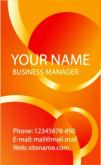 Template Kartu Nama Vector Gratis Download - template-kartu-nama-45