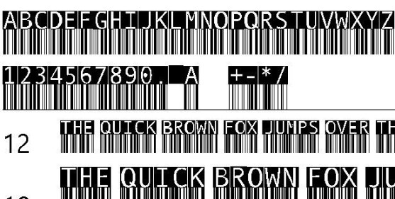 30 Best Font Barcode Download Free - BarMKode-Inverse (TrueType)